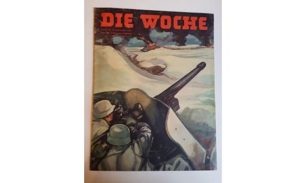 """Žurnalas """"DIE WOCHE""""1943m nr.5"""